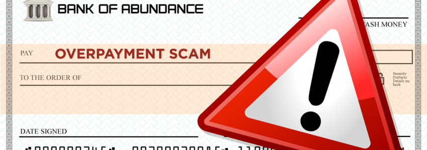 Overpayment scams